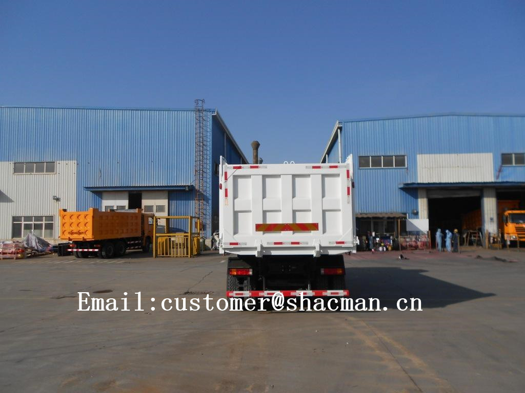 F3000 Shacman 6X4 Dump Truck 345HP Commins Engine