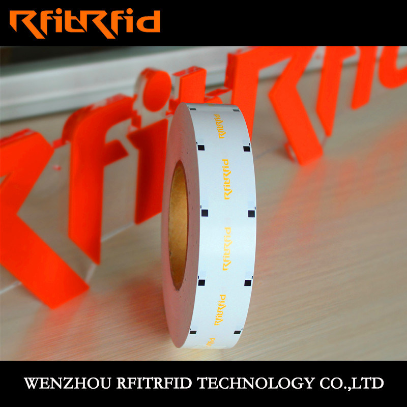 Bank Vault Tamper RFID Sticker