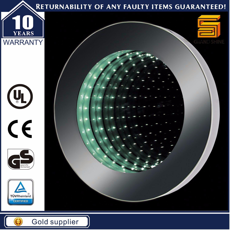 Customized Size UK Bathroom Sensor Switch Smart Function LED Illuminated Mirror
