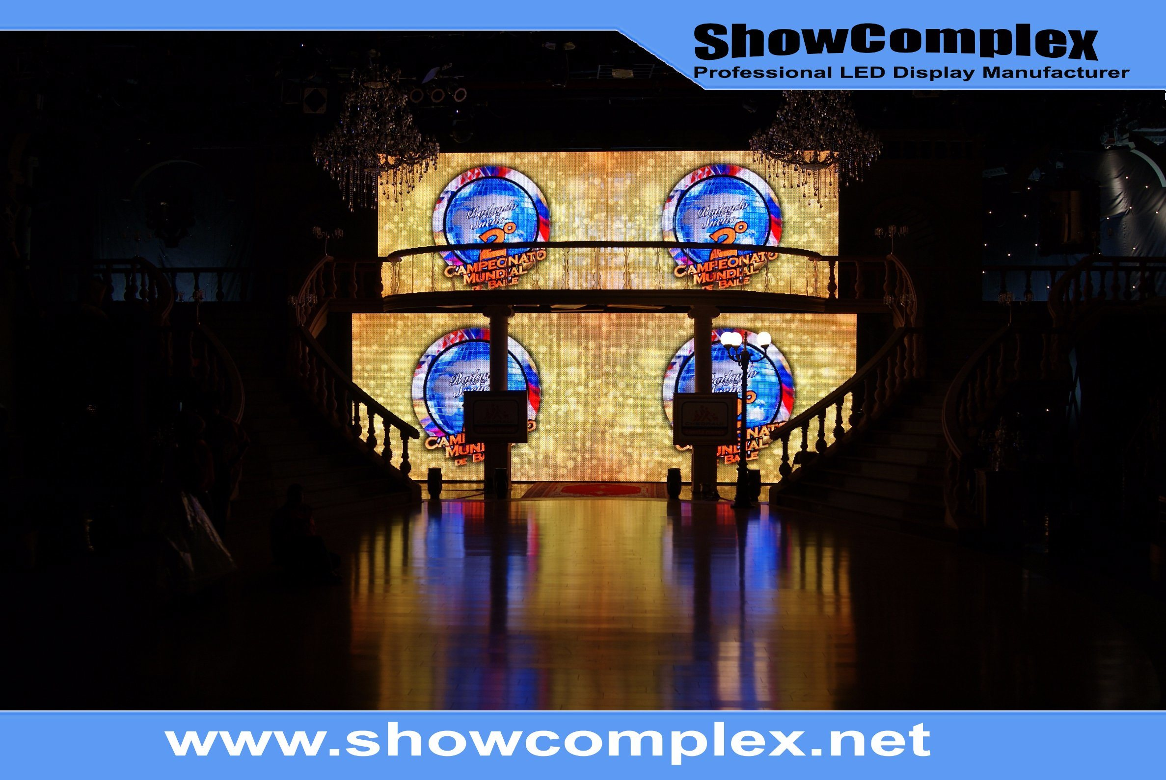 Indoor Full Color LED Display Board for Rental with High Contrast (pH2.5)
