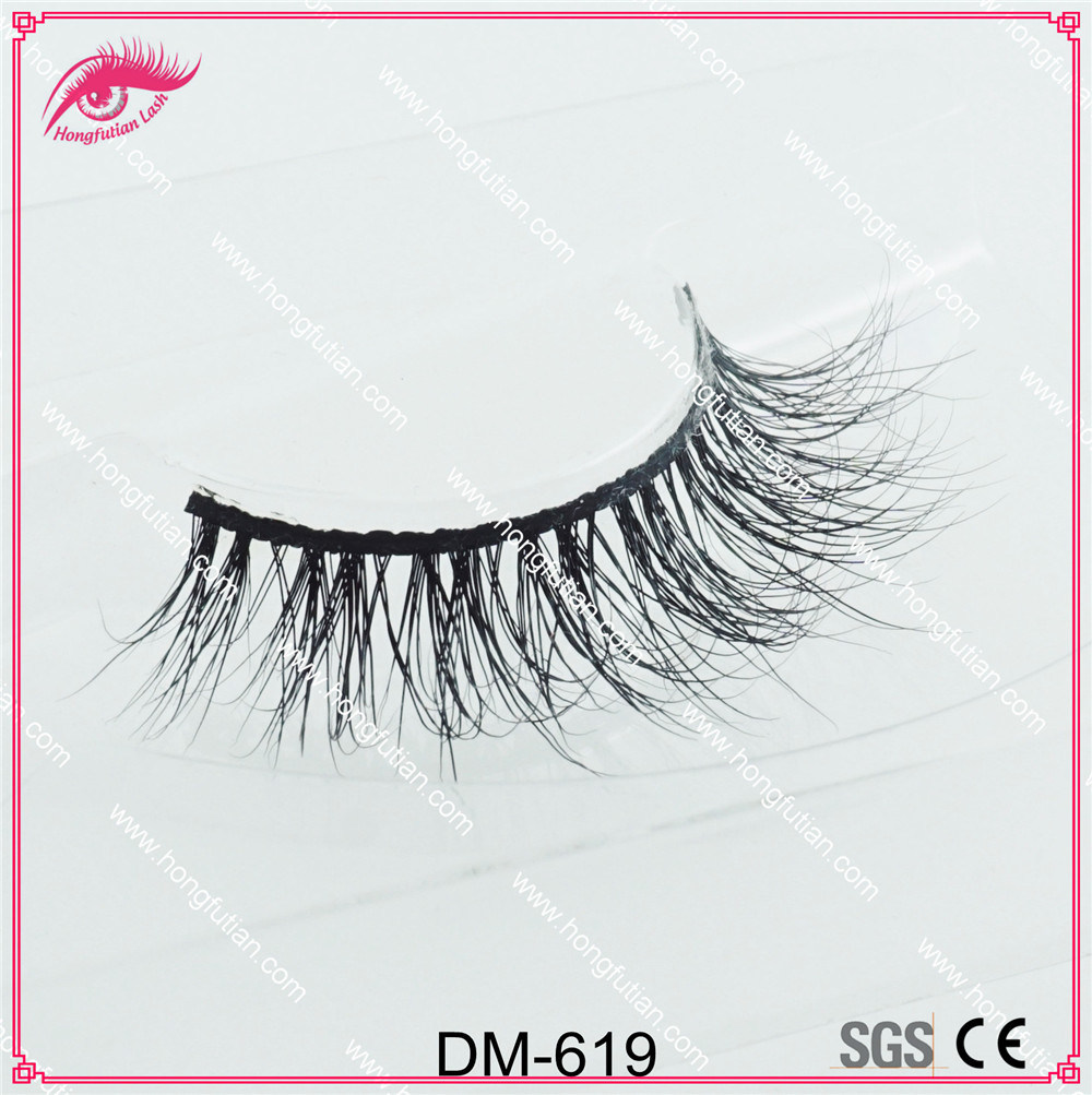 Wholesale Price Mink Wispie Lashes Products Handmade Mink 3D Eyelash