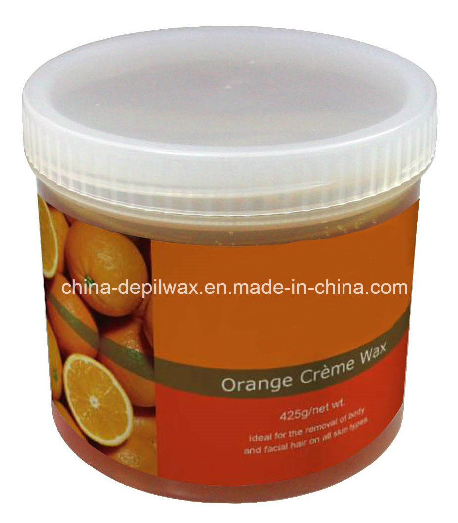 425g Jar Soft Depilatory Wax Natural Honey Wax