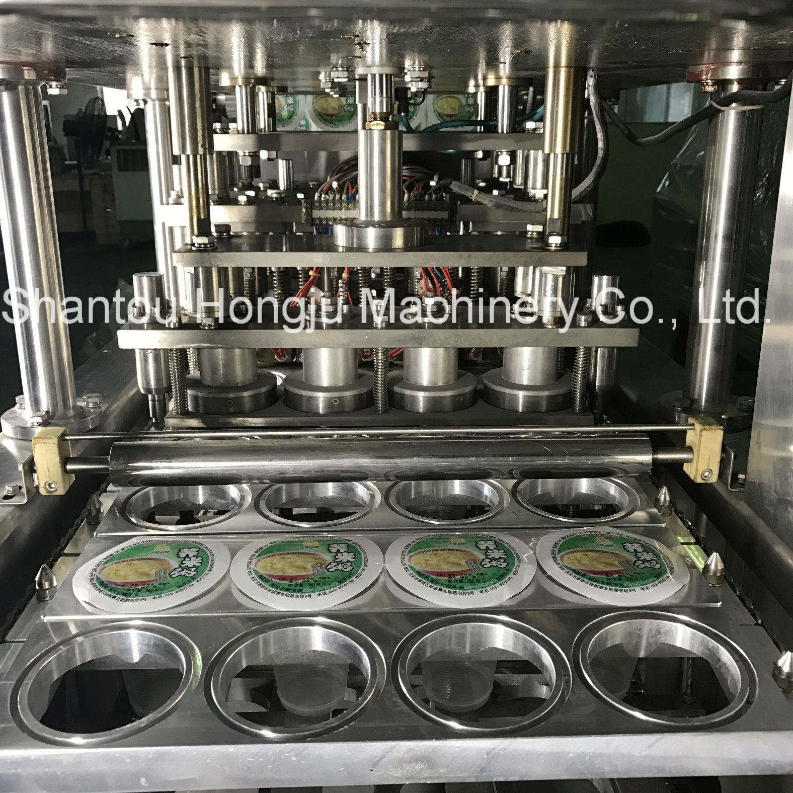 Fruit Jelly Filling and Sealing Machine for Plastic Cups