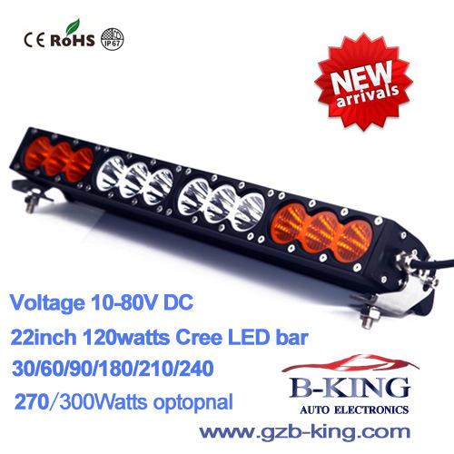 New Arrival 22 Inch 120W (12PCS*10watts) CREE LED Bar Light