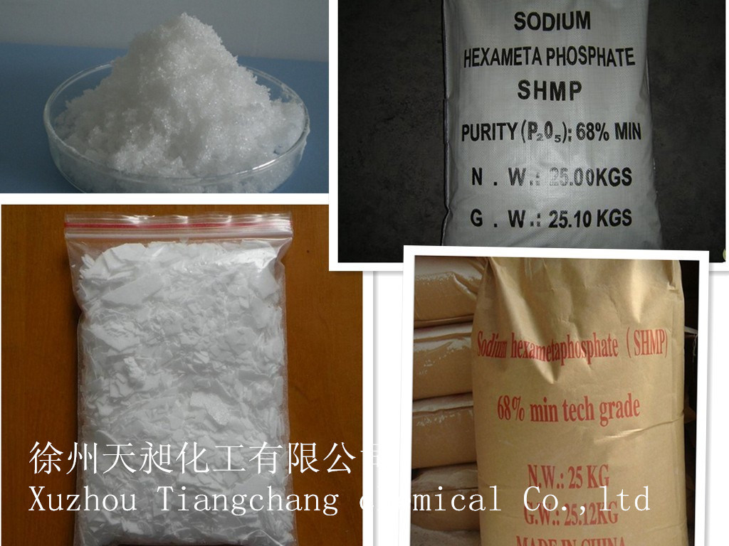 SHMP Sodium Hexametaphosphate 68% Purity