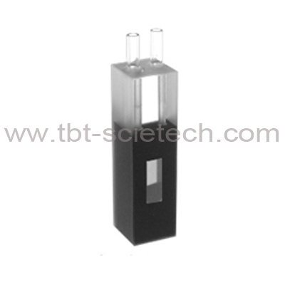 China High Quality Lab Used Quartz Glass Flow Cell