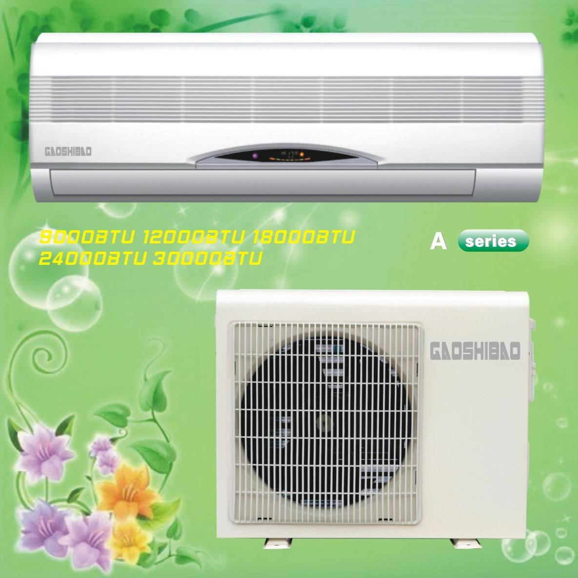 12000BTU Split AC Units Home Split Air Conditioner China Split  #B3B118