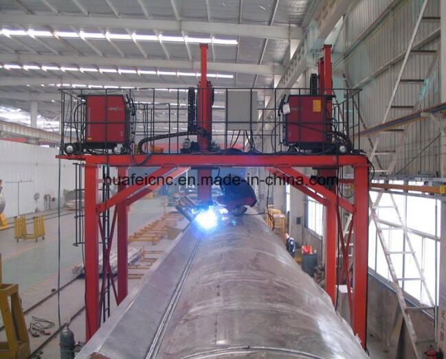 Gantry Type Welding Machine for Special Shape Tank