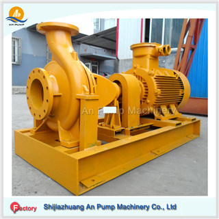 Large Capacity High Head Centrifugal Horizontal End Suction Water Pump