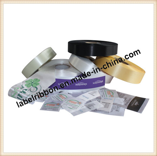 Thermal Transfer Printing Slited Edge 100% Polyester Satin Ribbon (PS6200)