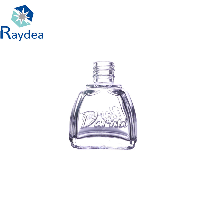 10ml Small Flat Glass Bottle for Nail Polish