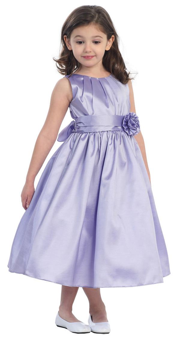 Beautiful Little Queen Flower Girl Dress (7008)