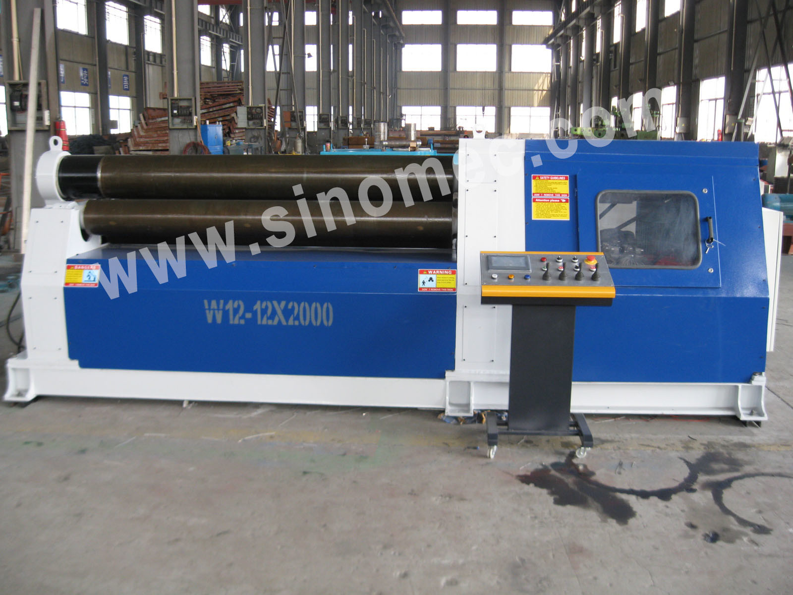 Bending Machine / Rolling Machine / Hydrualic 4 Roller Machine
