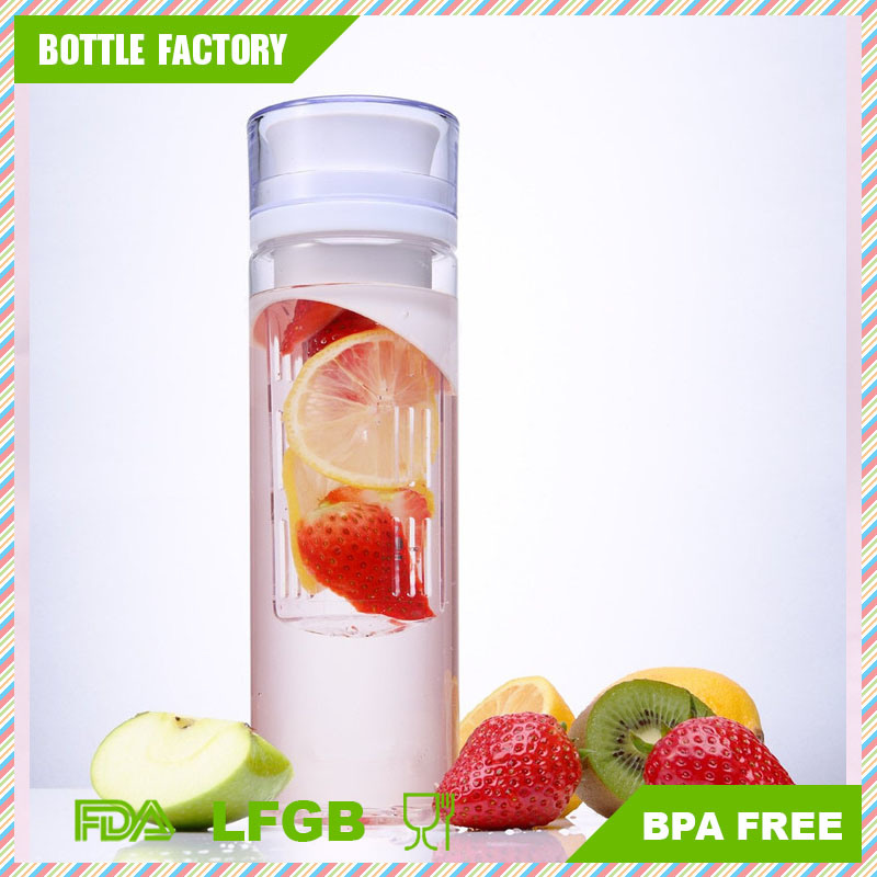 BPA Free Material Fruit Infuser Water Bottle