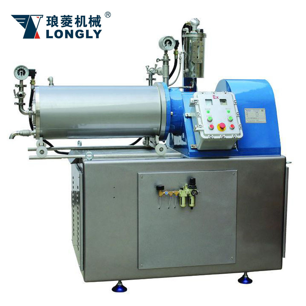 LSM-20A Disk Type Horizontal Bead Mill
