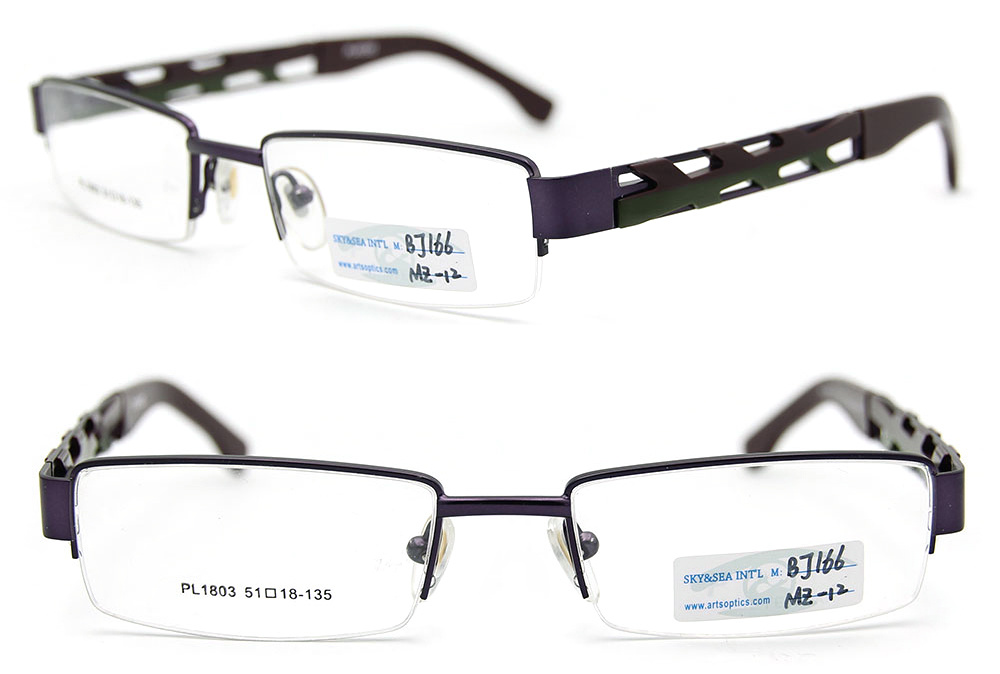 Eyeglasses With No Bottom Frame : 2012 New Models of Glasses Frames Half Frame Glasses ...