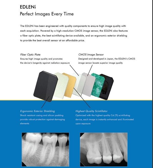 Original USA Ce and FDA Dental X Ray Rvg Sensor
