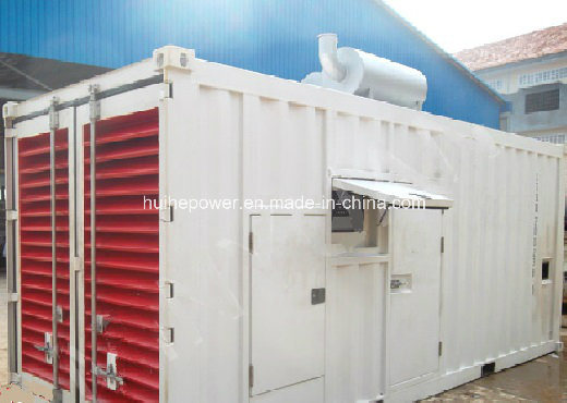 1250kVA Diesel Genset of Containerized Type with Perkins Engine
