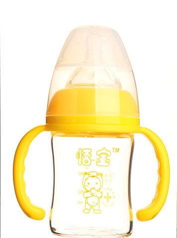 120ml Diamond Glass Baby Bottle