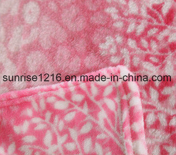 Super Soft Printed Flannel Blanket Sr-B170213-18 Printed Coral Fleece Blanket