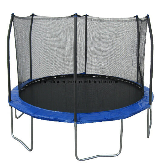 15FT Round Trampoline with 6 Legs and safety Net for Child and Adult Playing