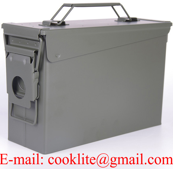 M19A1 30 Cal Military Ammo Can Ammunition Box