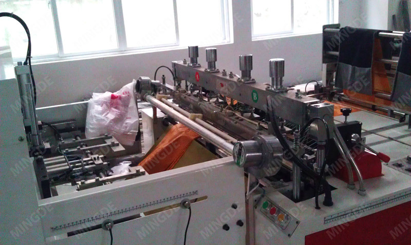 Full Automatic High Speed Shopping Bag Making Machine