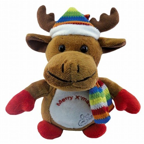 Stuffed Toy Reindeer, Soft Reindeer Toy