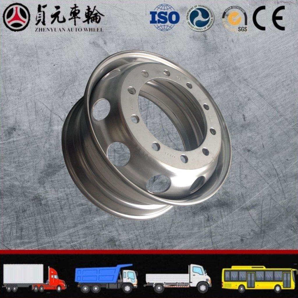 Truck Bus Stainless of Tubeless Steel Wheel Rims