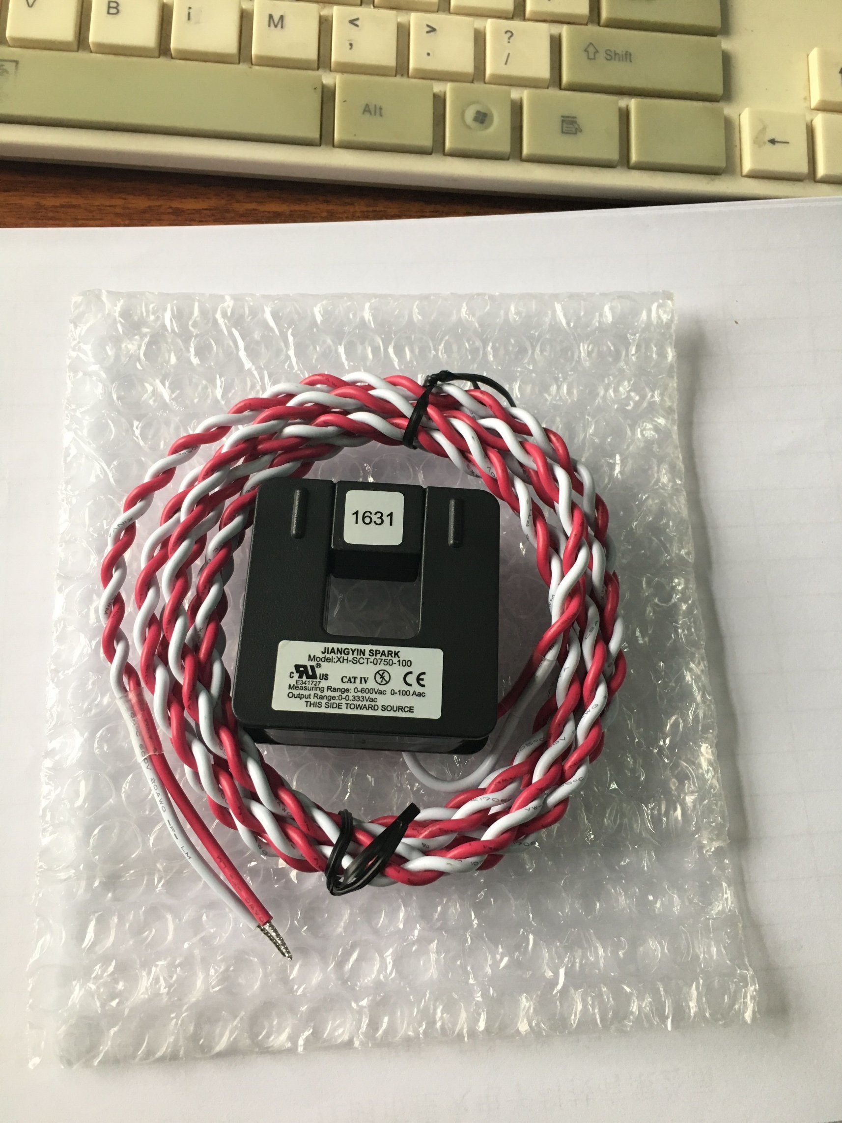 Split Core Current Transformer Xh-Sct-0750-100A/0.33V
