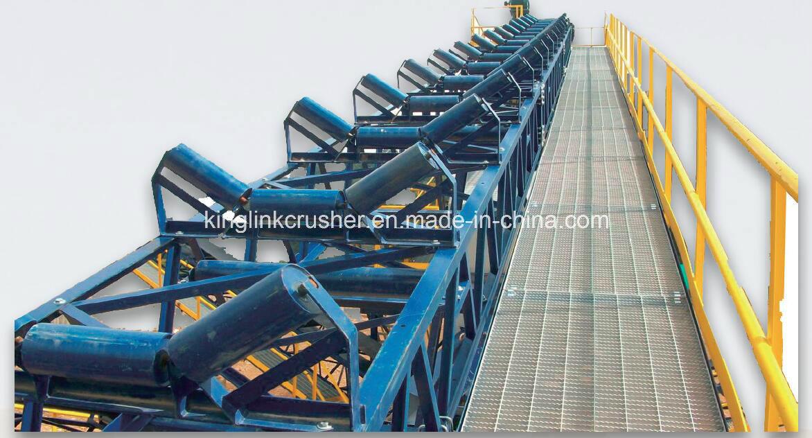 Overland Curved Belt Conveyor / Curved Conveyor /Mining Conveyor