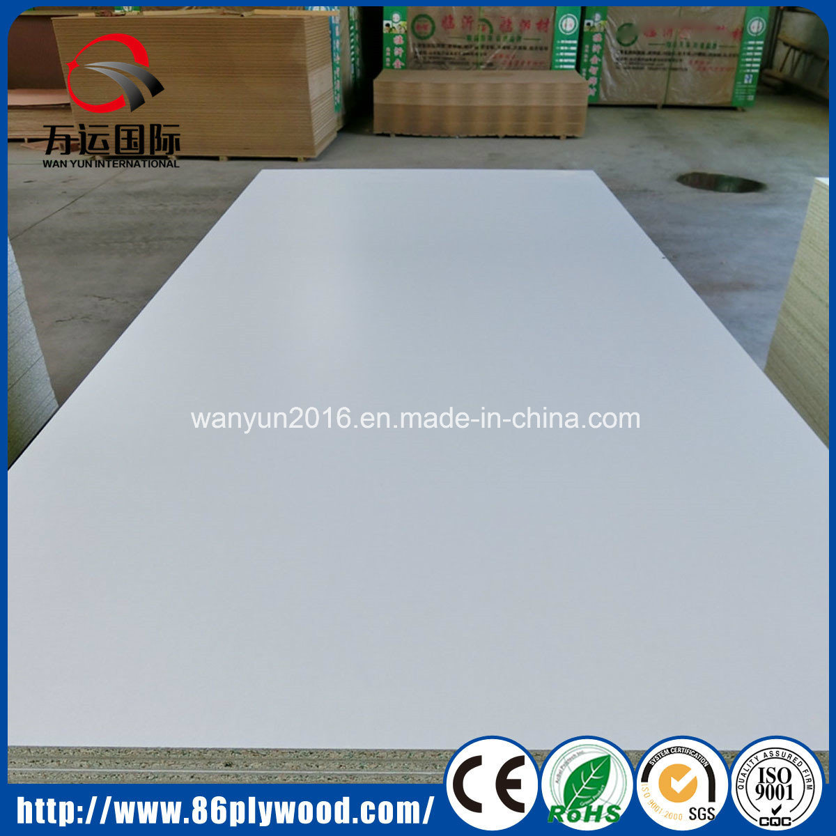Raw/ Plain/ Melamine Laminated Particle Board