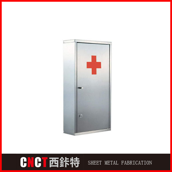 Stainless Steel Modern Wall Mounted Bathroom Mirror Medicine Cabinet