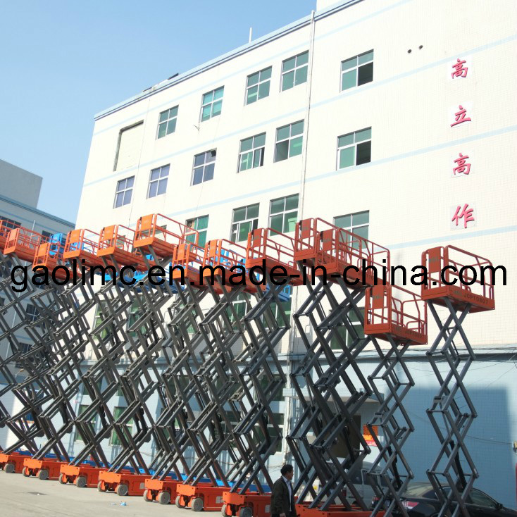 Self-Propelled Car Lift with CE Standard