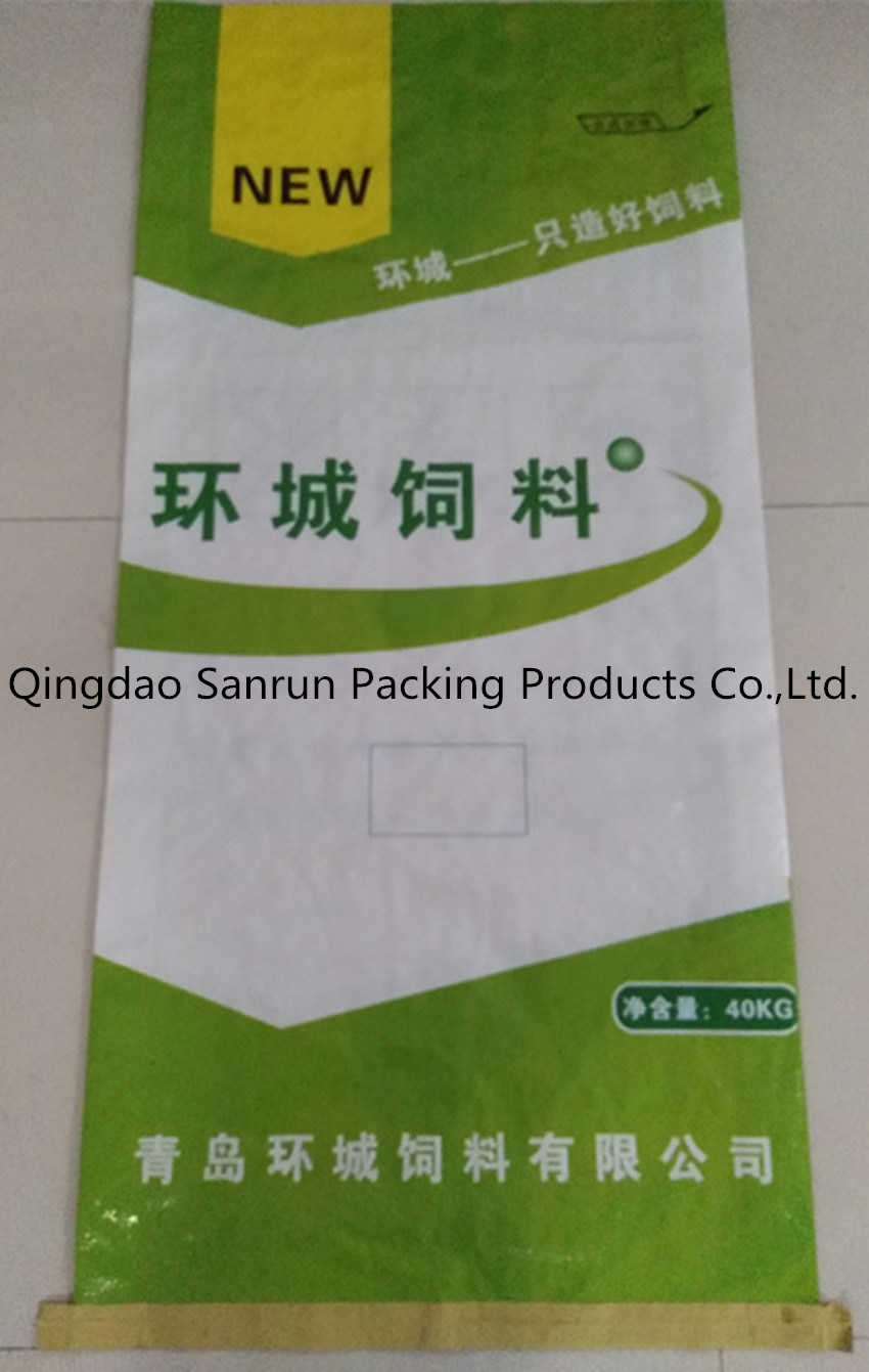 PP Woven Bag for Rice Flour Fertilizer Feed (Fodder) Seed Sugar