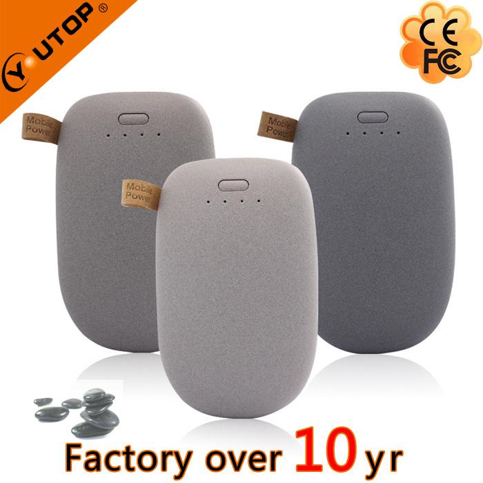 Promotional Gift Pebble Stone Power Bank 4800/6000/7200/8000/88000/10400/12000mAh (YT-PB27-02)