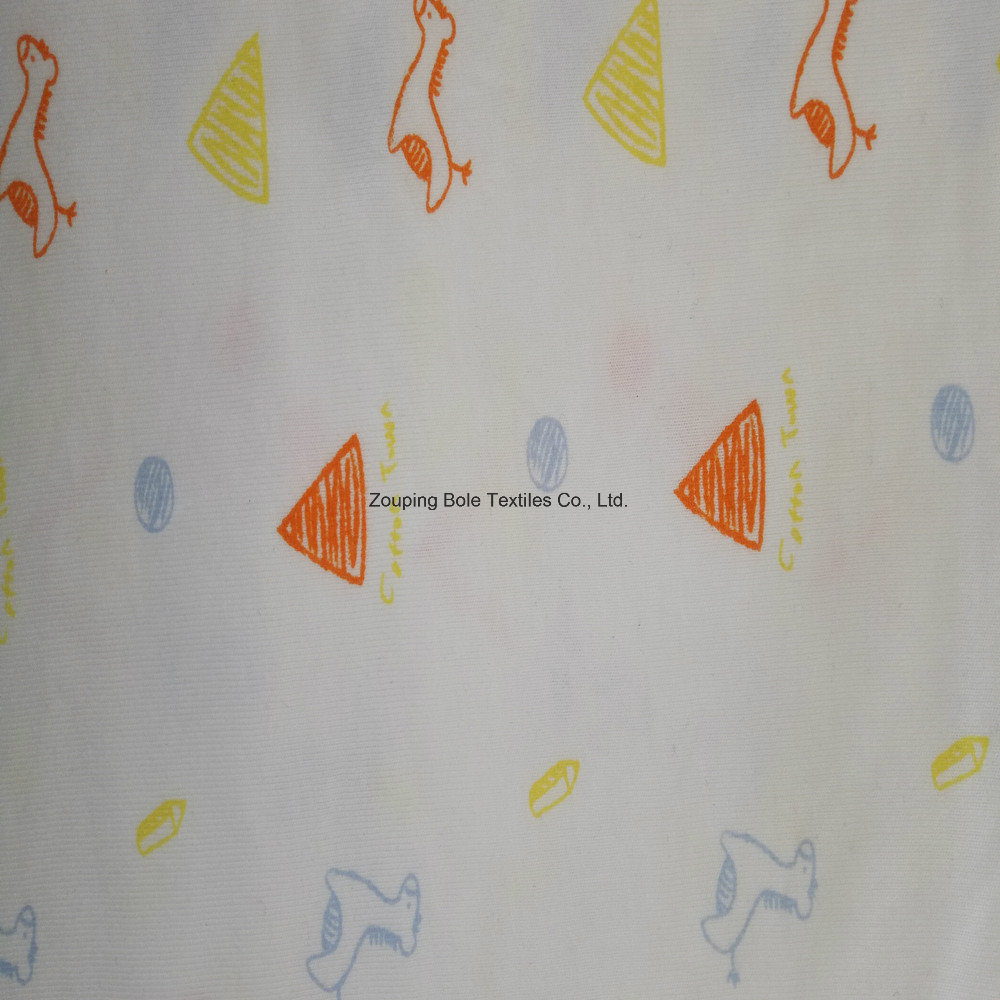 Printed Single Jersey/Single Jersey/Pure Cotton Cloth /Printed Knitting Single Jersey