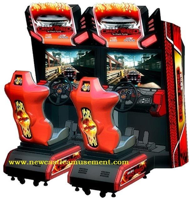 Arcade Game Machine Crazy Speed Twin Game Machine