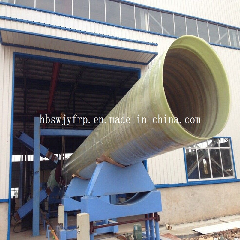 FRP Pipeline for Carrying Irrigation Water