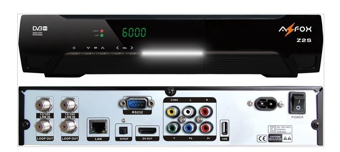 Azfox Z2s Nagra3 Sks Twin Tuner Satellite Receiver in Chile