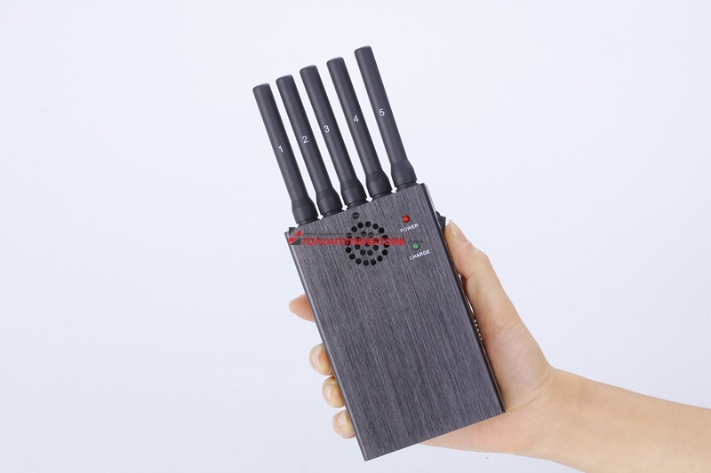 2015 New 4G Lte Wimax Signal Jammer -Handheld Five Bands- Block 2g 3G 4G Phone Signals Usine Signal Brouilleur