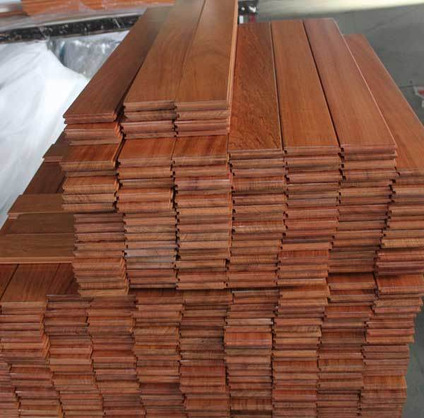 Cumaru Wood Flooring Brazilian Teak Hardwood Floor China