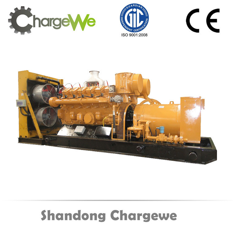 300kw Methane Gas Engine Power Silent Canopy Biogas Generator Set Electric Generator