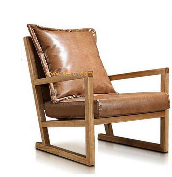 (CL-1127) Modern Wood Lounge Leisure Chair for Hotel Furniture