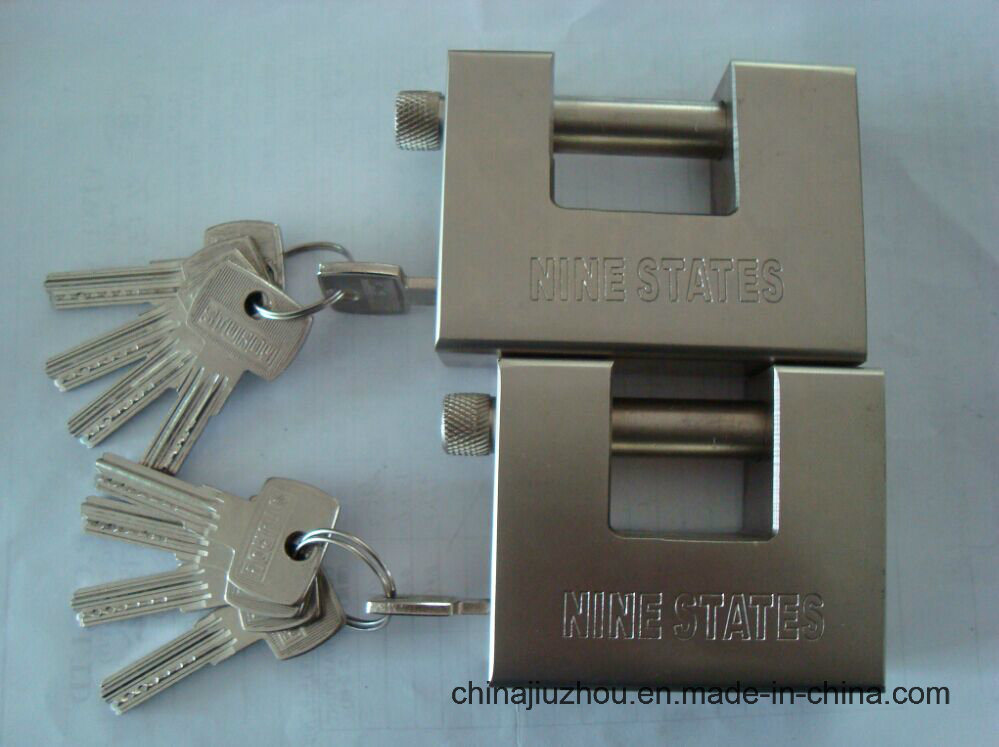 40mm Rectangle Blade Iron Padlock (9001040)