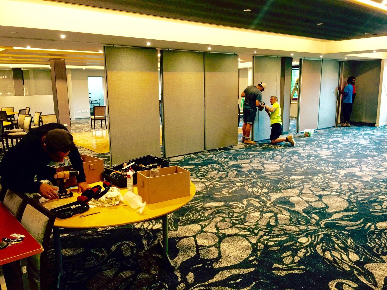 China Acoustic Movable Walls for Ballroom