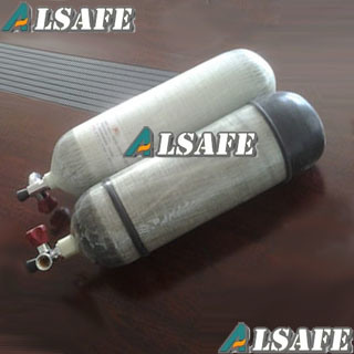 4500psi, 9L Carbon Wrapped Air Cylinders Refill