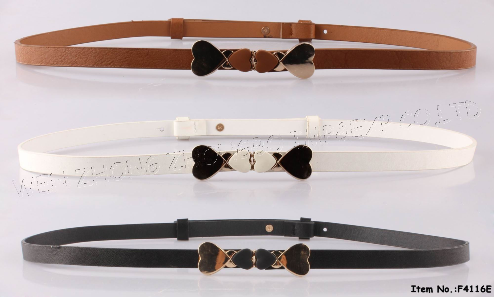 2016 Bowknot PU Leather with Fashion Accessories