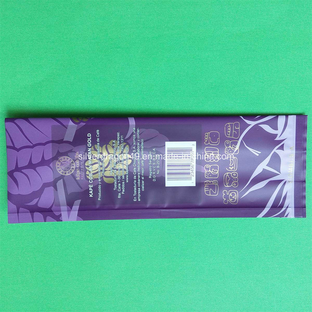 Aluminium Foil Coffee Bag with Side Gusset (450g)