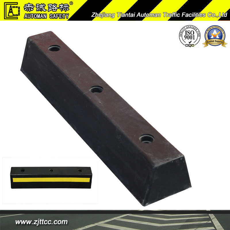 Car Wheel Safety Parking Industrial Rubber Stopper (CC-D07)